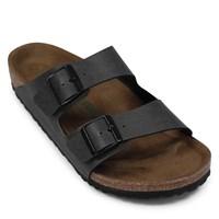 Men's Vegan Arizona Sandal in Dark Grey