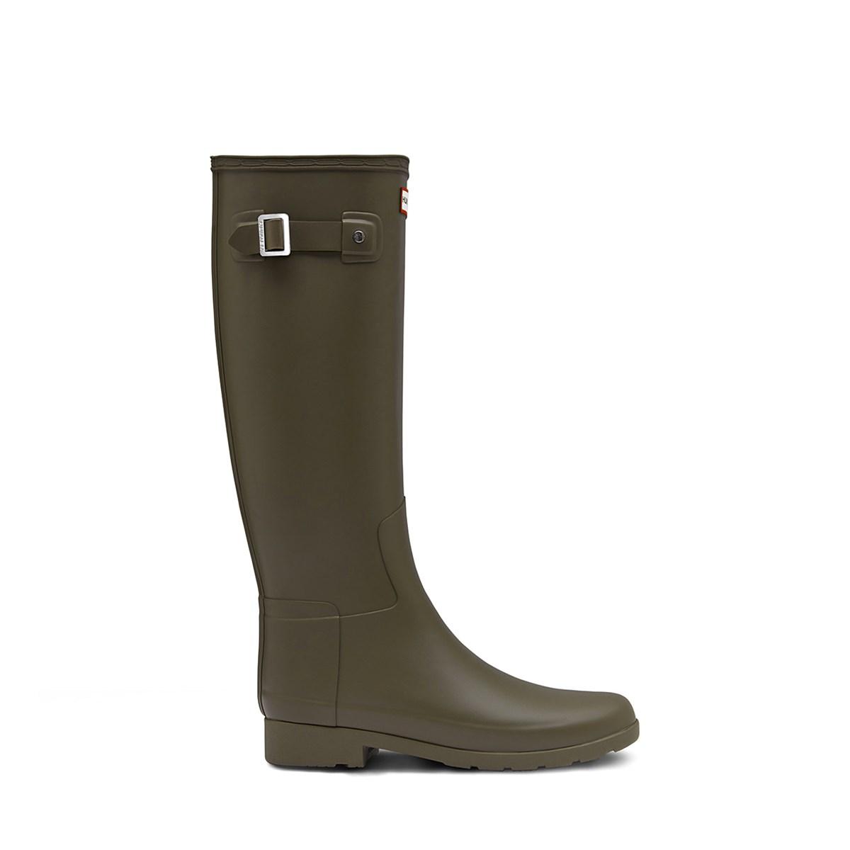 Women's Original Green Tall Refined Rain Boots