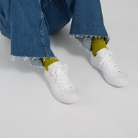 Baskets Chuck Taylor All Star Mono en cuir blanc