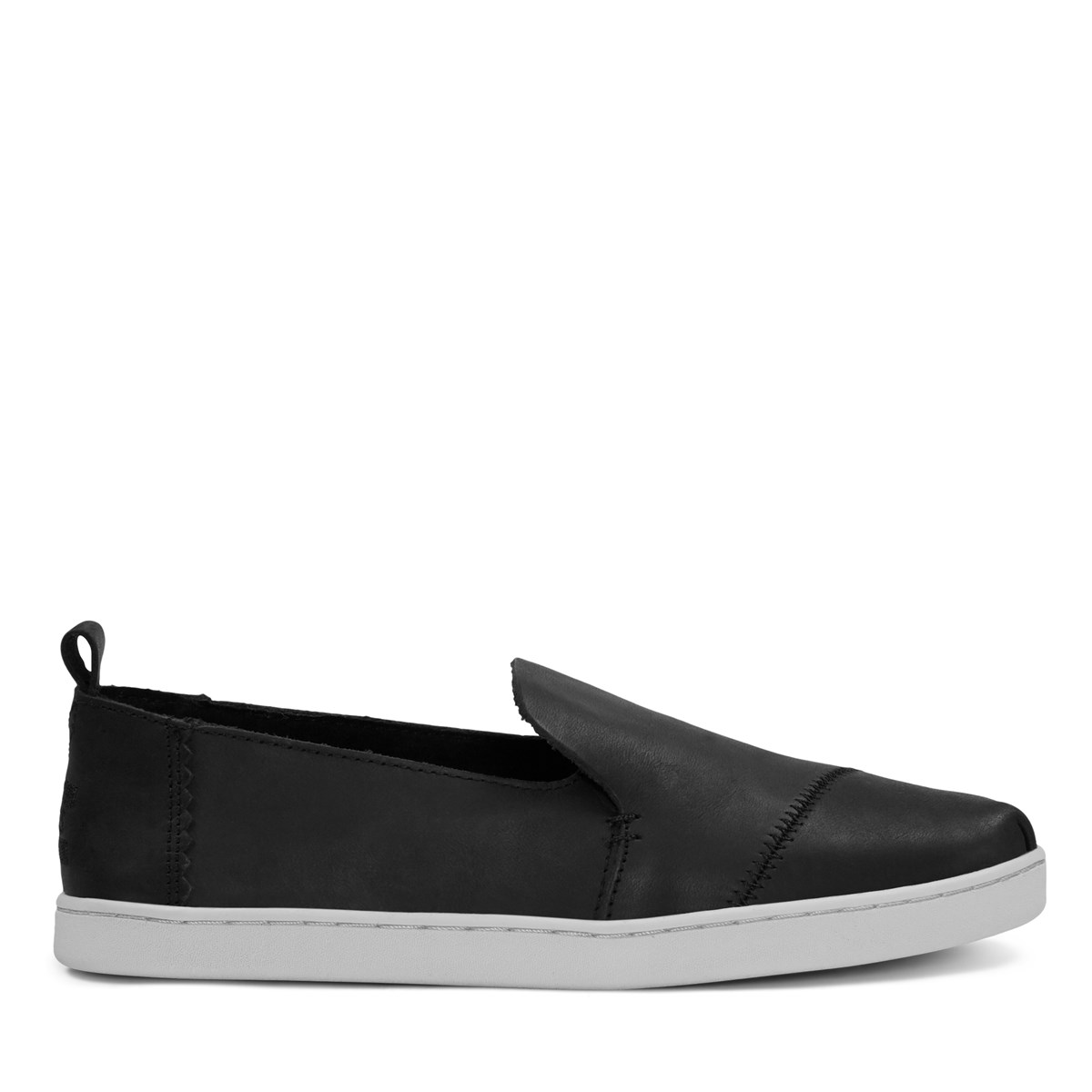 Women's Alpargata Suede Black Slip-On