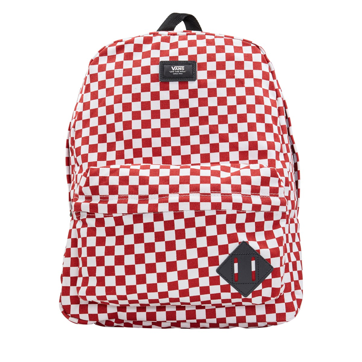 3fa9d240b0f4 Old Skool II White Red Checkerboard Backpack. Previous. default view ...