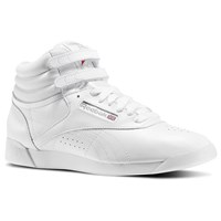 Women's Freestyle Hi Sneakers in White