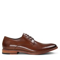 Men's Alberto Cognac Leather Lace-Up Shoe