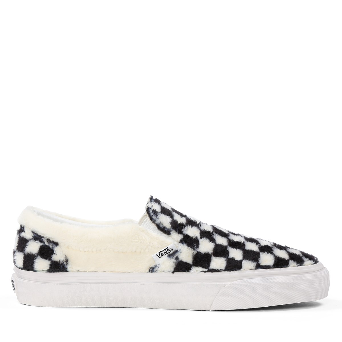 c2d29dc348b Women s Classic Sherpa Checkerboard Slip-On