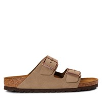 Women's Arizona Soft Sandals in Taupe