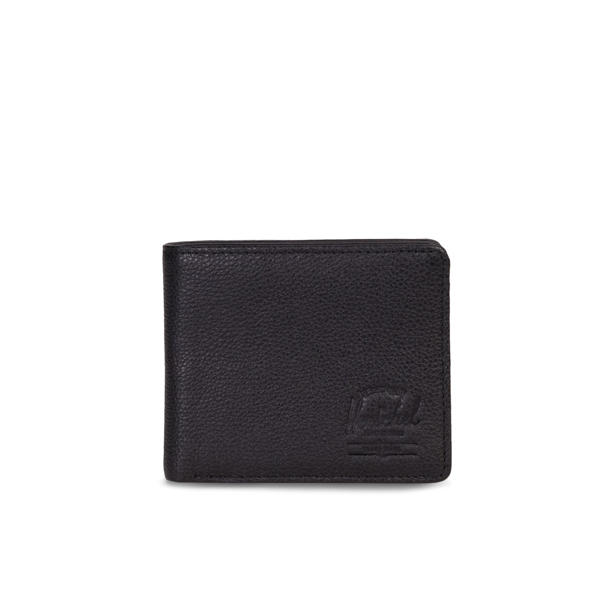 Roy Coin XL Black Leather Wallet