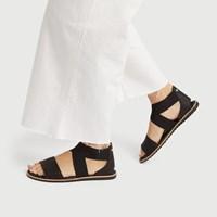 Sandales Ella noires pour femmes
