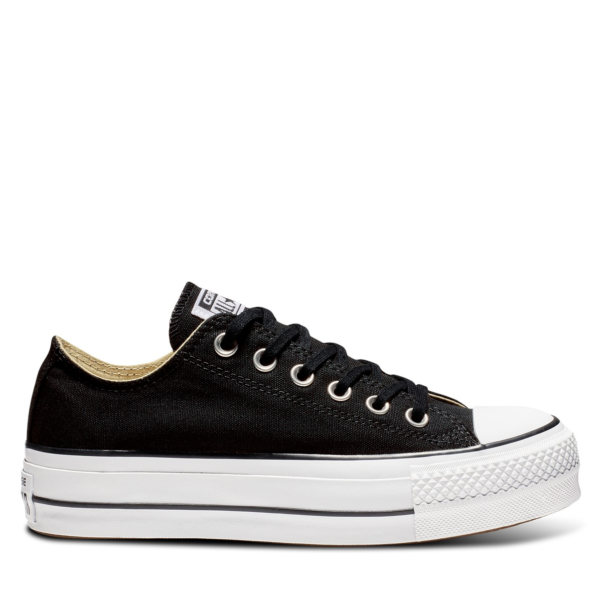Women's Lift Low Top Platform Sneakers in Black
