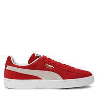 Women's Suede Classic+ Sneakers in Red