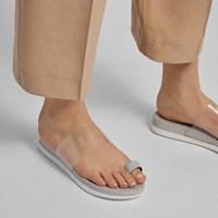 Sandales Danava grises pour femmes
