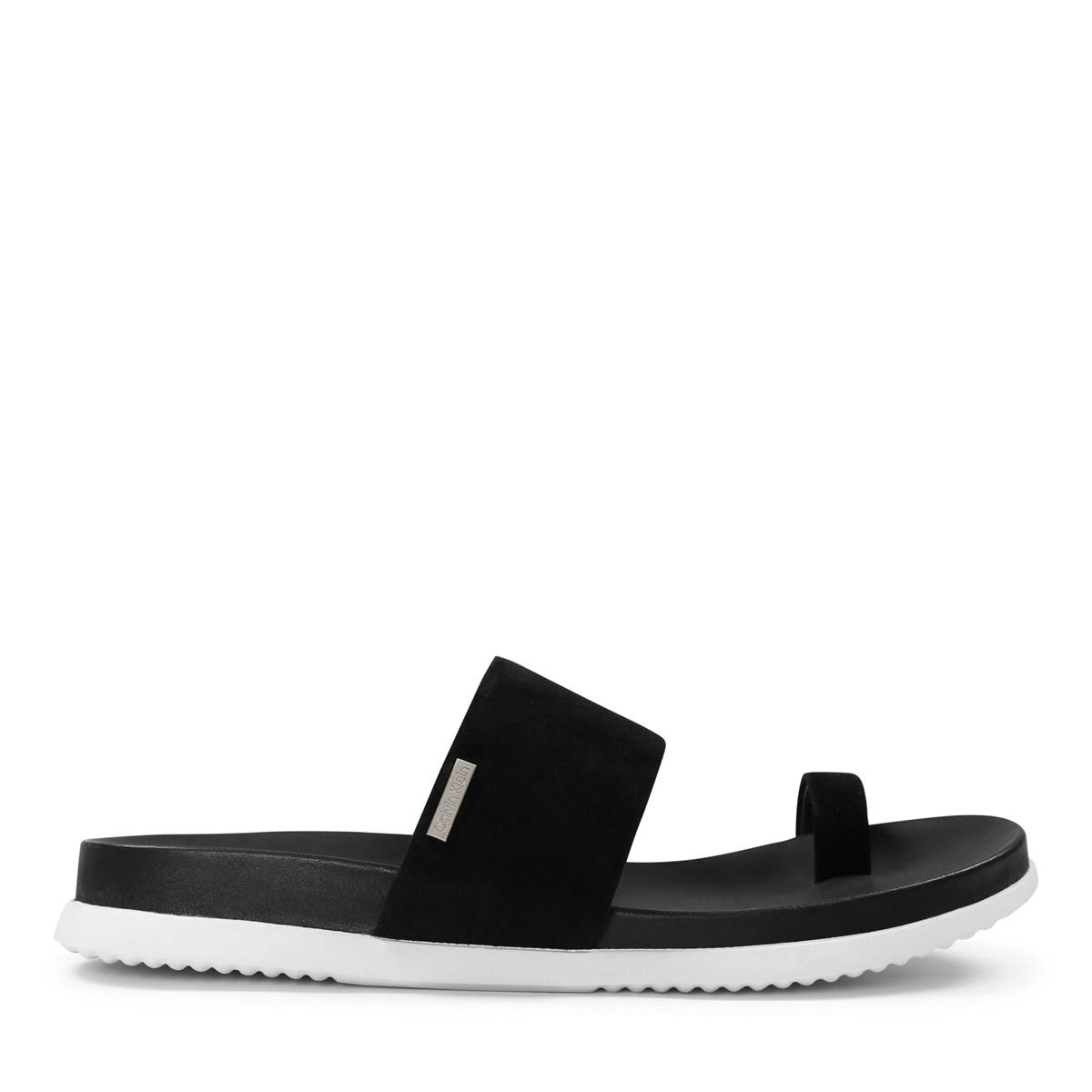 Women's Danava Black Slide Sandal