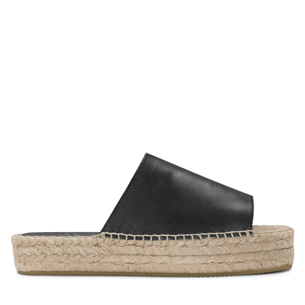Women's Savannah Black Platform Sandal