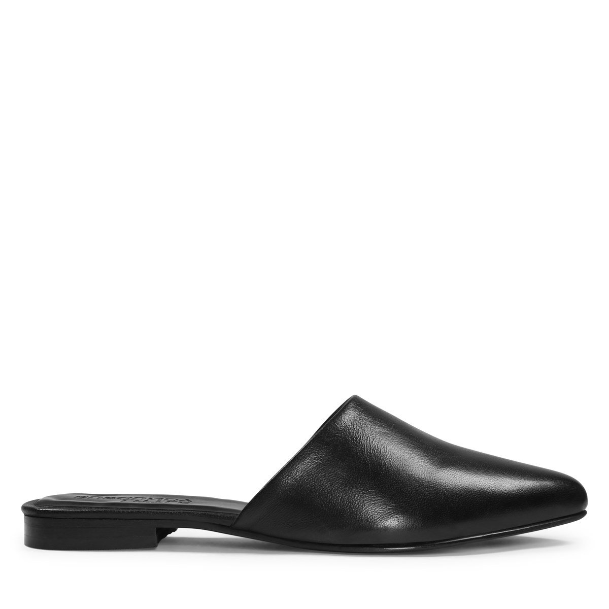 Women's Mila Leather Mule in Black