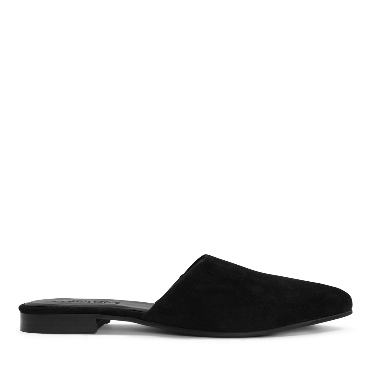 Women's Mila Suede Mule in Black