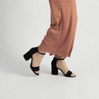 Sandales à talon bloc Summer noires