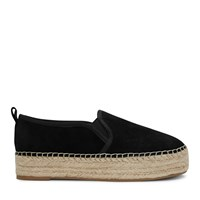 Carrin Platform Espadrille in Black