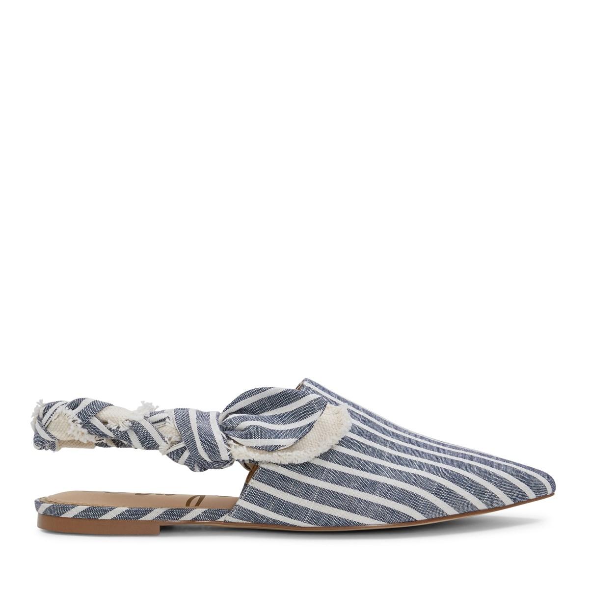 Sandales Rivers à rayures bleues pour femmes