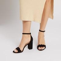 Sandales Odila à bride de cheville noires pour femmes