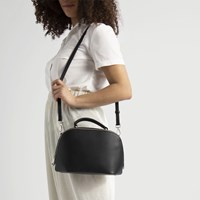 Women's Laura Cross-Body Bag in Black