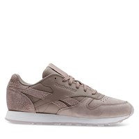 Women's Classic Leather Sneaker in Taupe