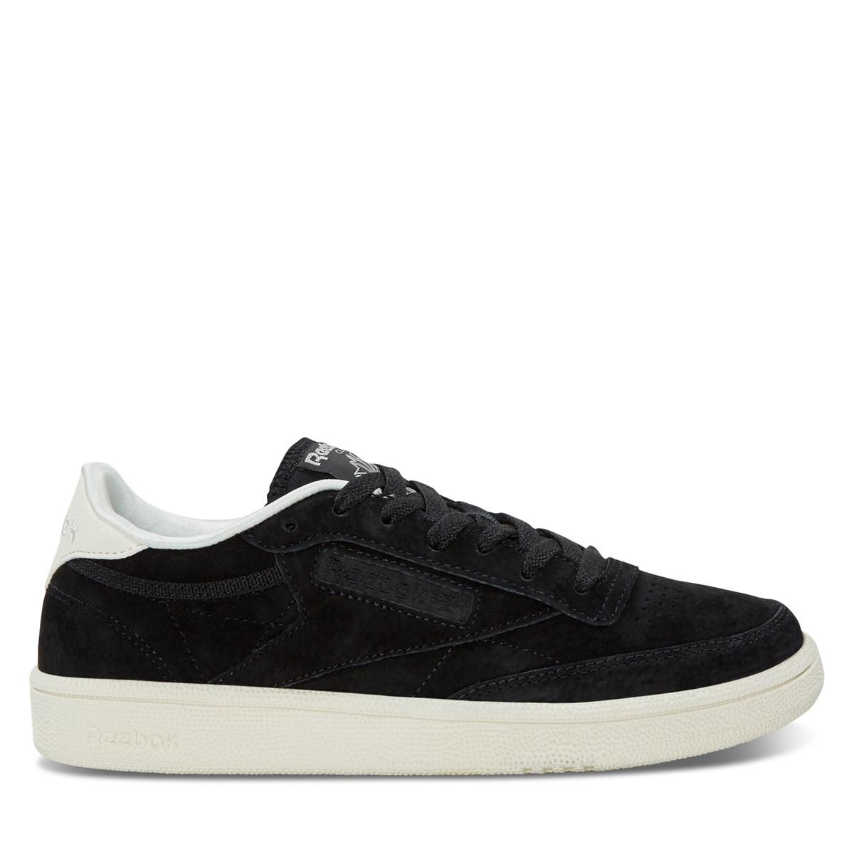 Women's Club C 85 Sneakers in Black
