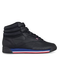 Women's Freestyle Hi Sneaker in Black
