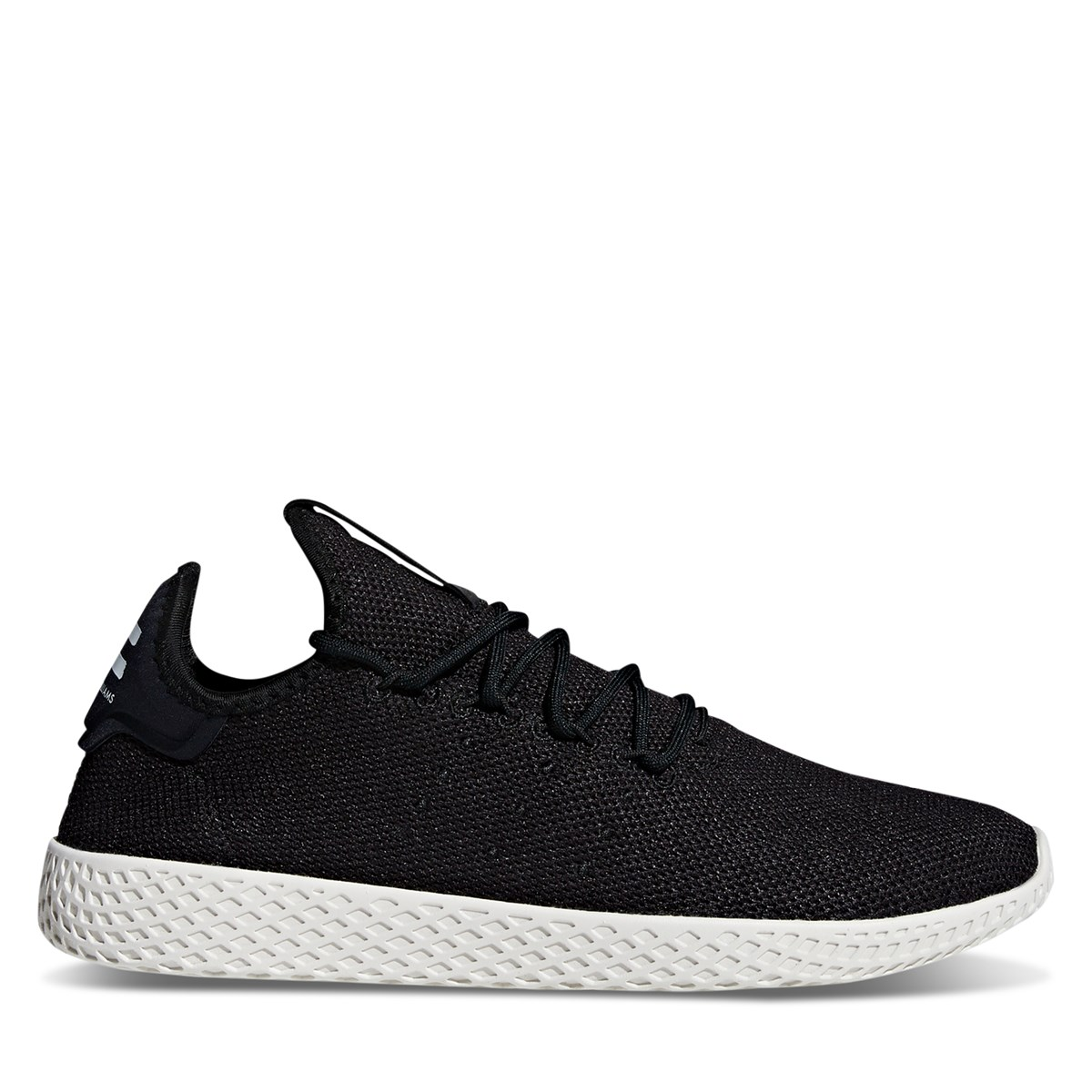 Men's Pharrell Williams Tennis Sneakers in Core Black