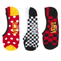 Women's 3 Pair Pack of Mickey'S 90th Canoodles Socks