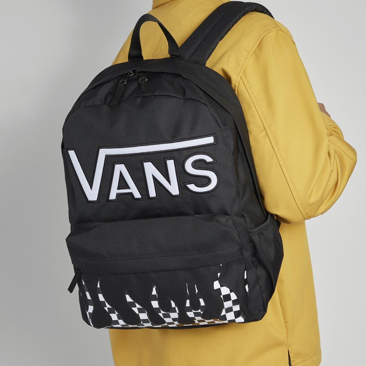 Real Flying V Backpack in Black