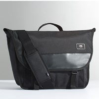Block Shoulder Pack in Black
