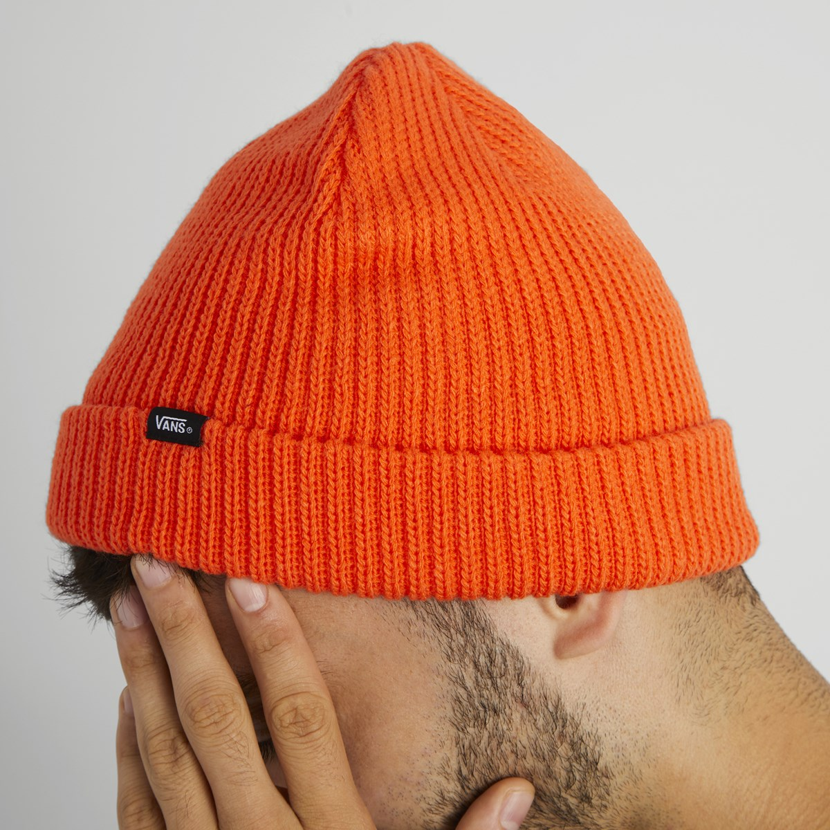 Core Basics Beanie in Orange. Previous. default view  ALT1 dfc78c88212
