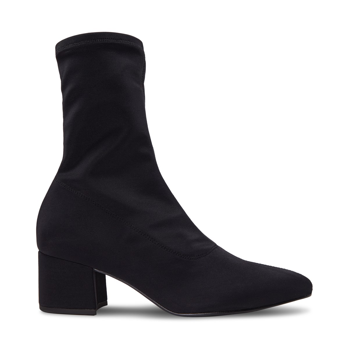 Women's Mya Sock Boots in Black