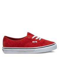 Women's Authentic Sneaker in Red