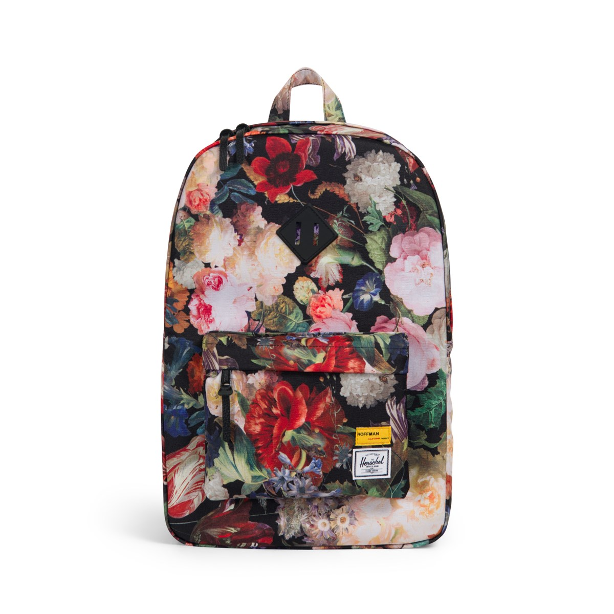 80235b33dd8 Hoffman Collection Heritage Backpack in Floral. Previous. default view   ALT1  ALT2