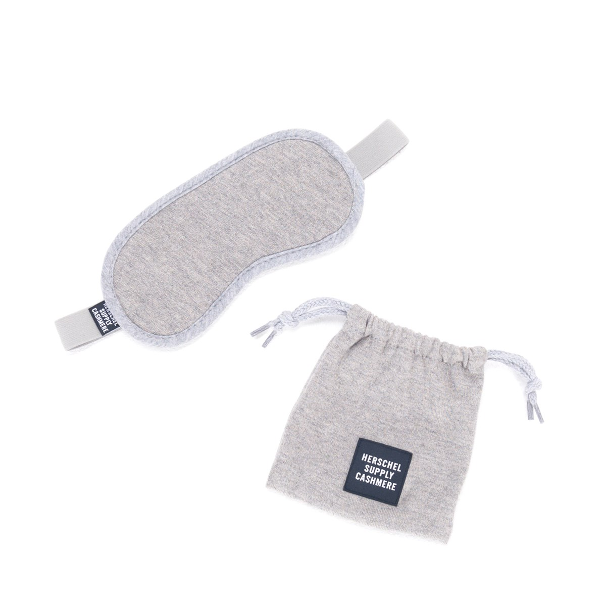 Cashmere Eye Mask in Grey