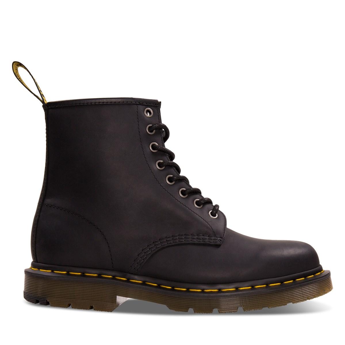 Men's 1460 Snowplow Boots in Black