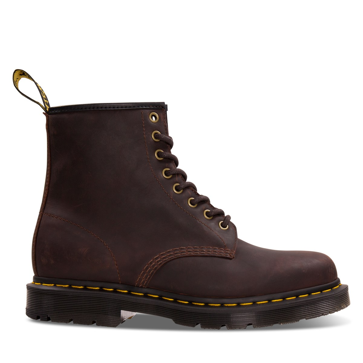 Men's 1460 Snowplow Boots in Brown