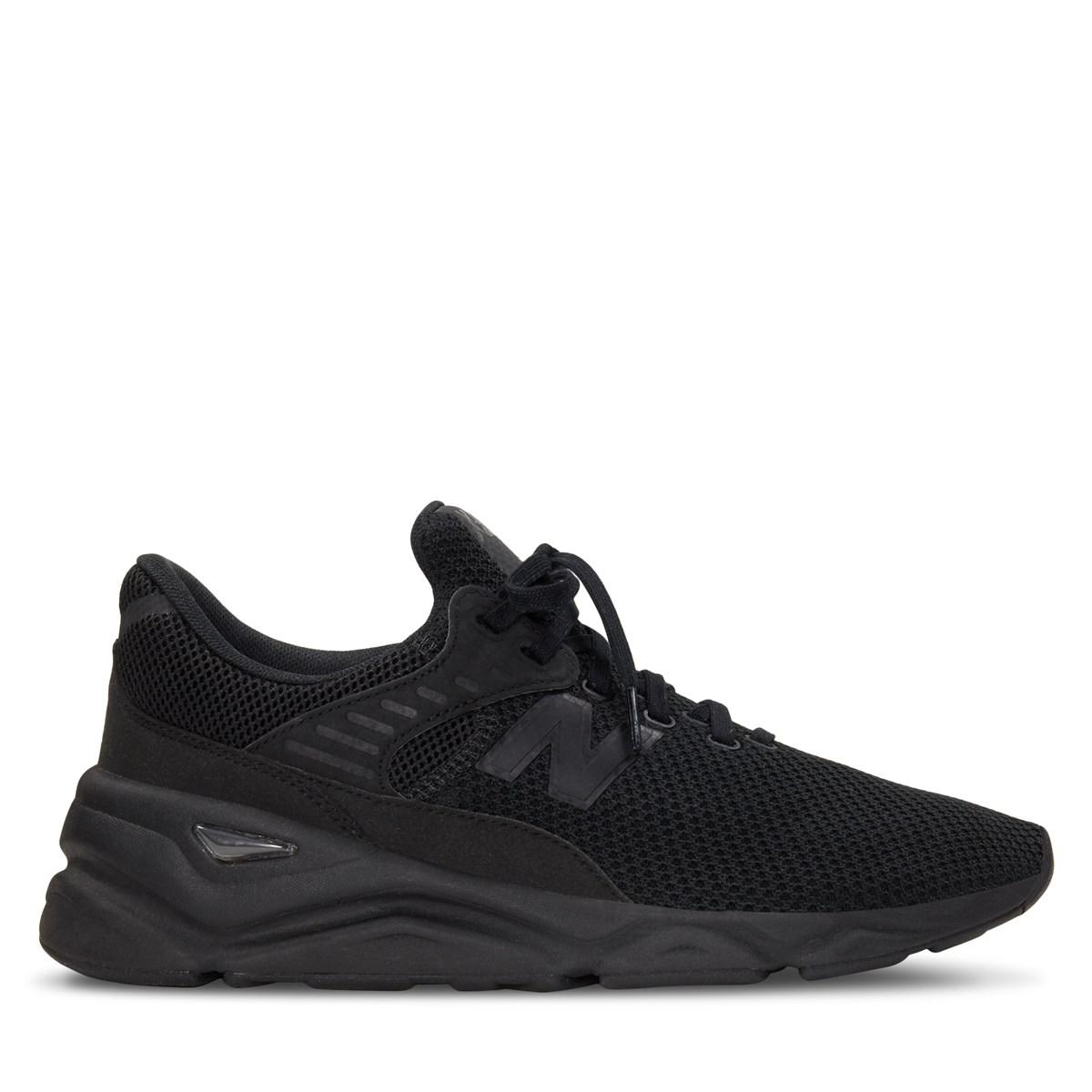 Men's X-90 Sneaker in Black