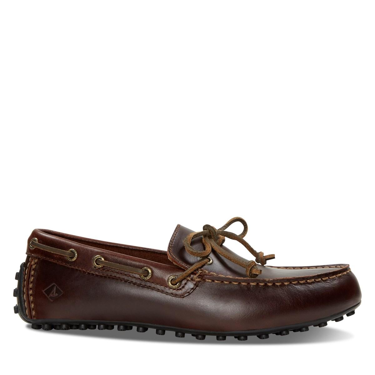 hot sale online e5493 4d664 Hommes Brunes Pour Ii Burgundy Hamilton Bateau Eye Chaussures Little 1  XZ0EYq