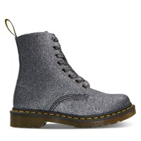 Women's 1460 Pascal Glitter Boots in Pewter