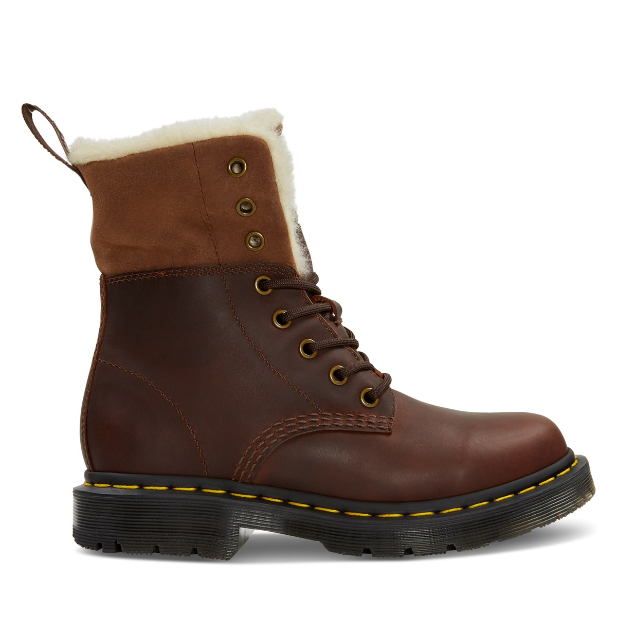 Women's 1460 Kolbert Boots in Brown