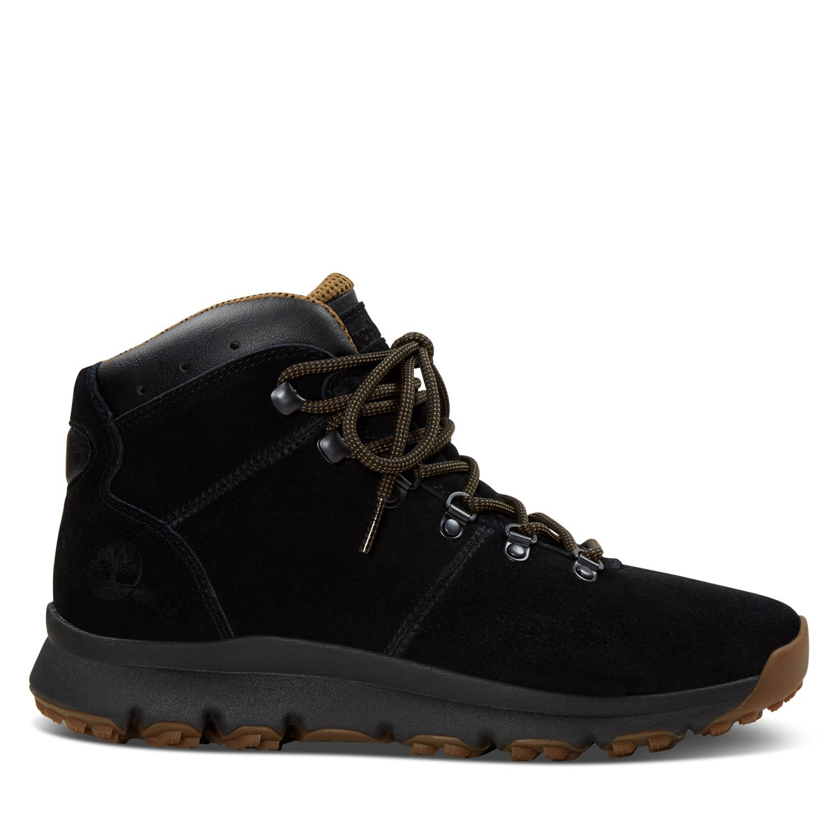 Men's World Hiker Mid Boots in Black