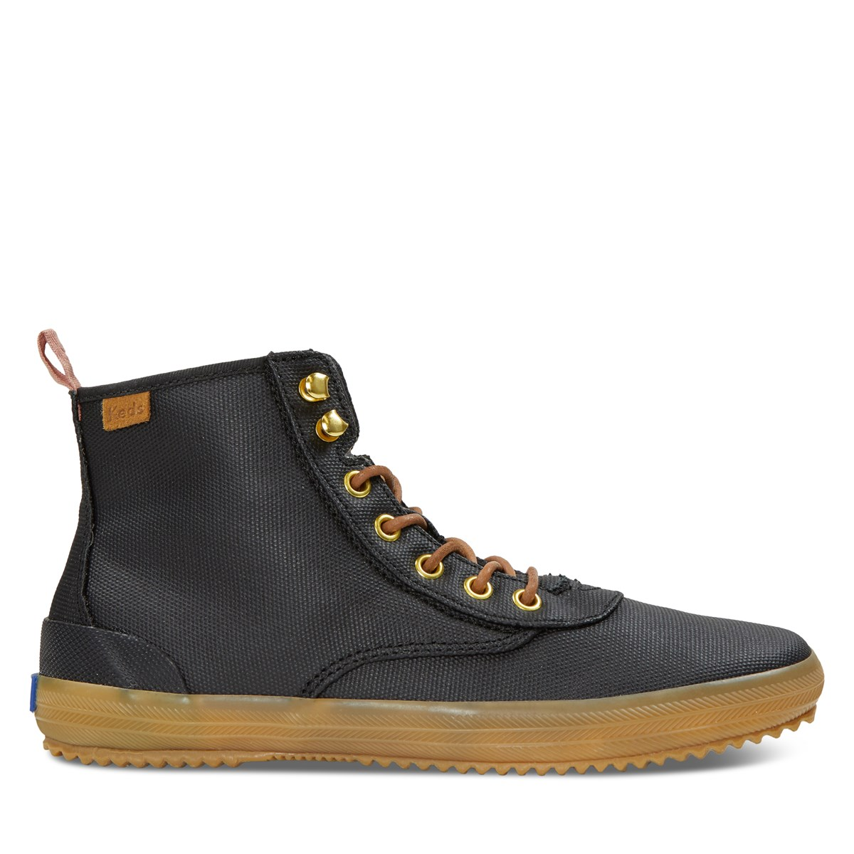 Women's Scout Splash Canvas Boots in Black