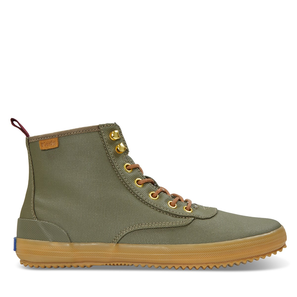 Women's Scout Splash Canvas Boots in Khaki