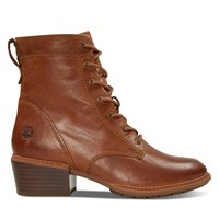 Women's Sutherlin Bay Mid Lace Boots in Cognac