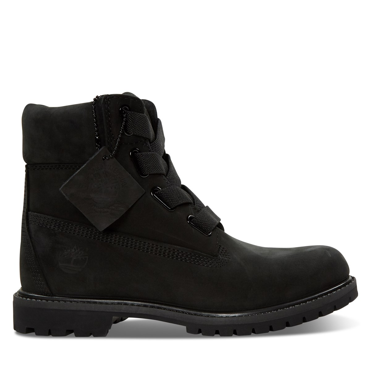 Women's 6-Inch Convenience Boots in Black