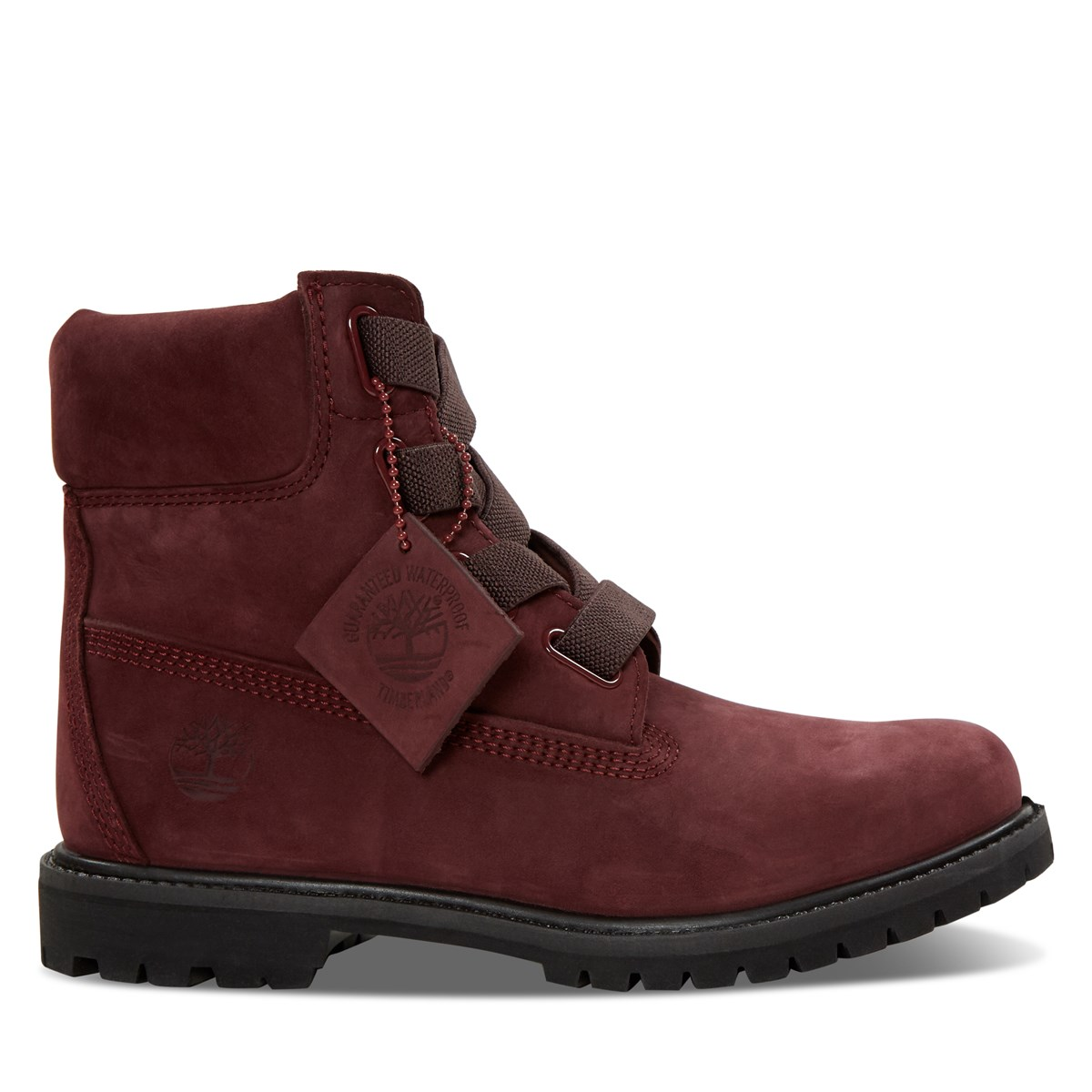 Women's 6-Inch Convenience Boots in Red