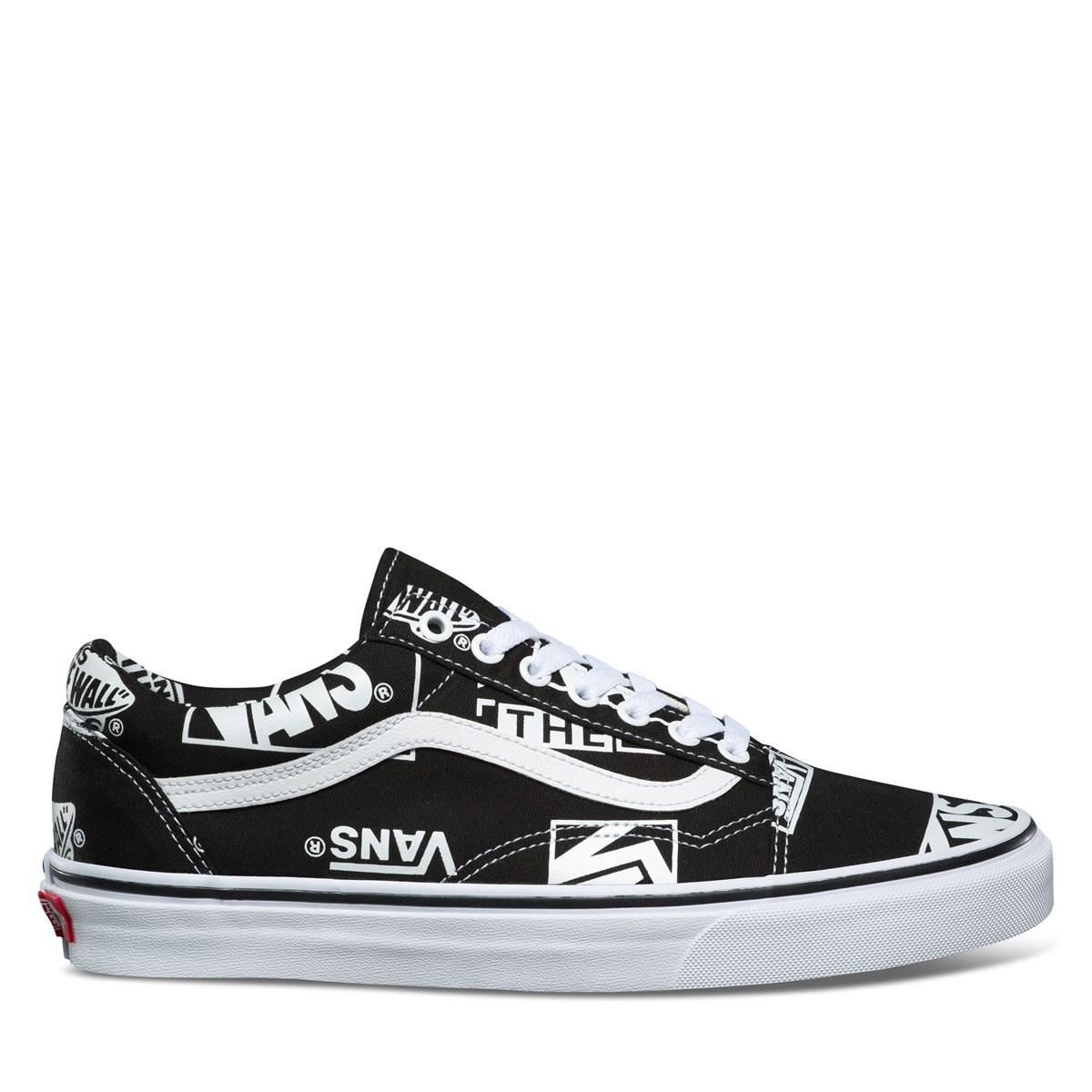 Men's Old Skool Sneakers in Black