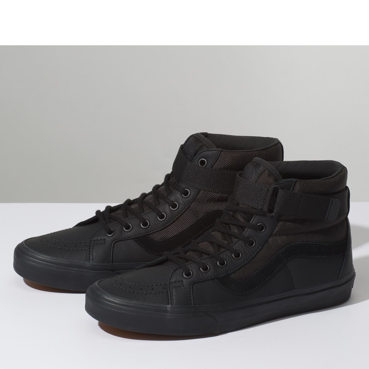 Men's SK8-Hi Reissue Strap Sneakers in Black