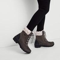 Bottes Whistler grises pour femmes